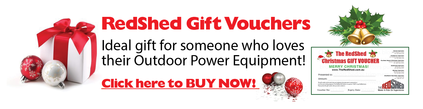 buy Gift Vouchers at Melbourne Mower Center