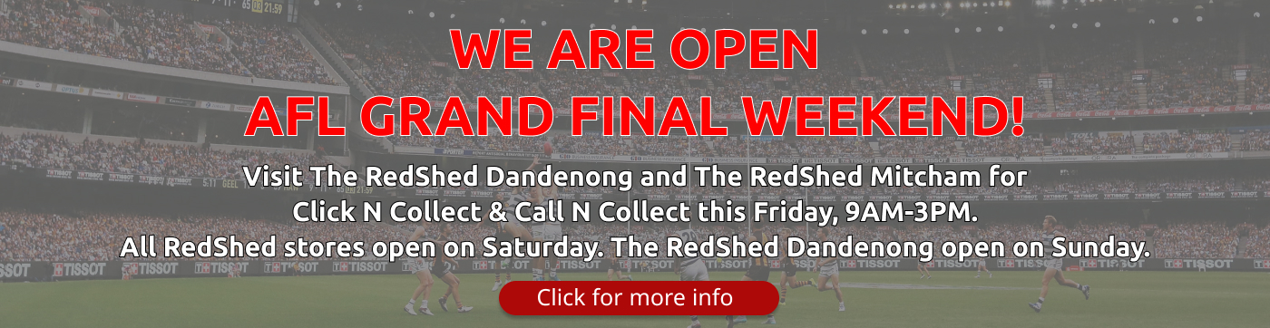 AFL Footy Banner - The RedShed