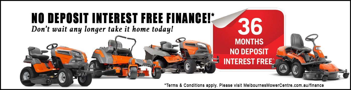 Interest free mowers