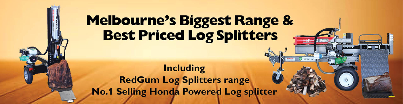 Australia's Biggest Range of Log Splitters from The RedShed