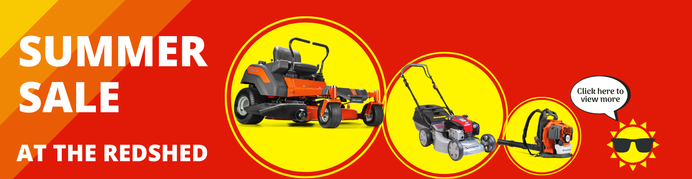 Ride on Mower Offers & Deals at RedShed
