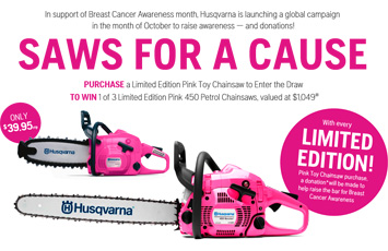 Pink Chainsaw