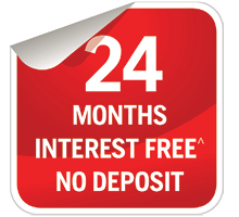 24 Months Interest FREE Offer
