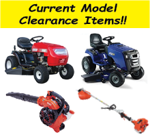 current model clearance